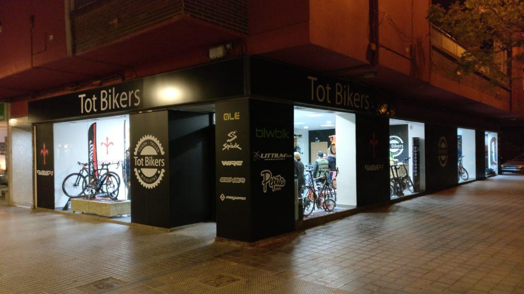 Tot Bikers se muda a la calle Oltà, 30 en Valencia
